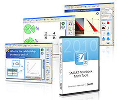 Программное обеспечение SMART Notebook MATH Tools - 5 компьютеров